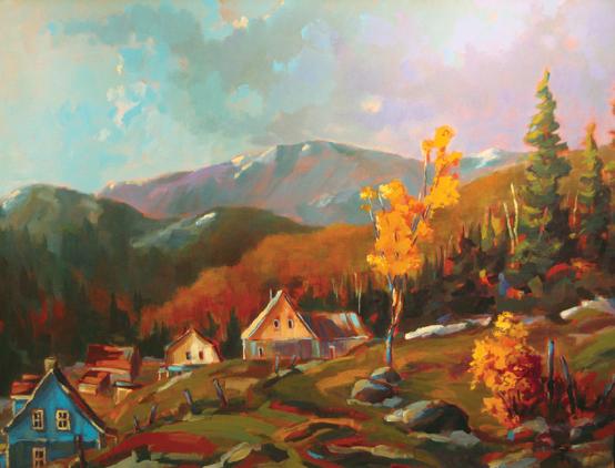 Clarence bourgoin artiste peintre canadien for Artiste peintre anglais